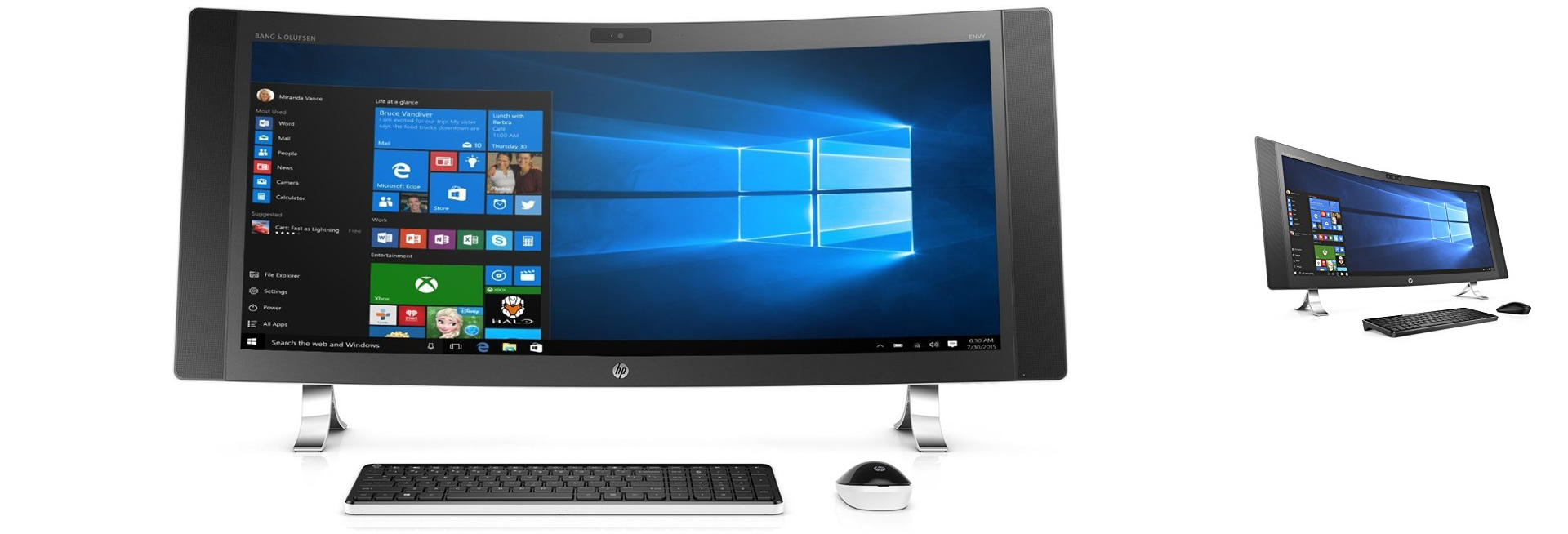 HP ENVY ALL IN ONE DESKTOP PC